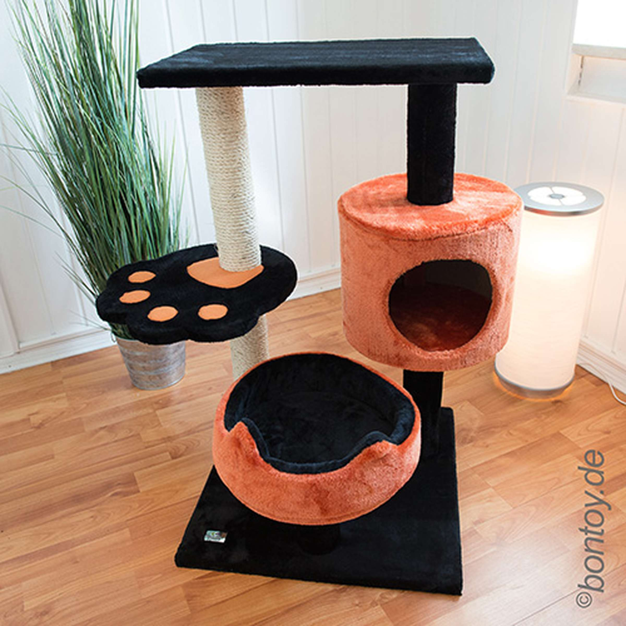 kratzbaum mittel. Black Bedroom Furniture Sets. Home Design Ideas